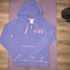 ❤️ PINK By VS lightweight Full Zip Jacket ❤️